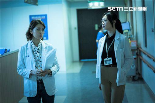 《生死接線員》女主角李杏、劉倩妏圖/公視提供