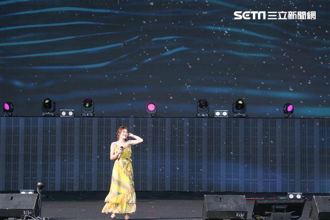 2019台潮盛典新浪潮吳申梅演出。(記者林士傑/攝影)