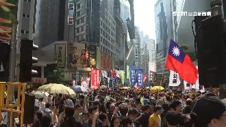 港人6日反國安法遊行 警:果斷執法