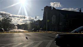 美馬里蘭州驚傳槍擊!民眾教堂前遭掃射 造成至少1死7傷(圖/翻攝自推特)