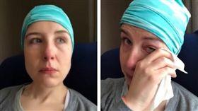 她排隊2年才看到醫師 小息肉變癌末(圖/翻攝自Marilyn Inez臉書)
