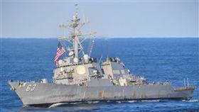 美軍史塔森號驅逐艦(USS Stethem DDG-63) (圖/翻攝自推特)