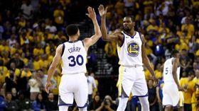 NBA/KD35分 勇士G1勝火箭 NBA,季後賽,金州勇士,Kevin Durant,Stephen Curry 翻攝自推特
