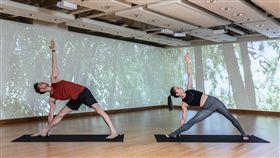 全亞洲首創4D情境瑜珈 進軍東區