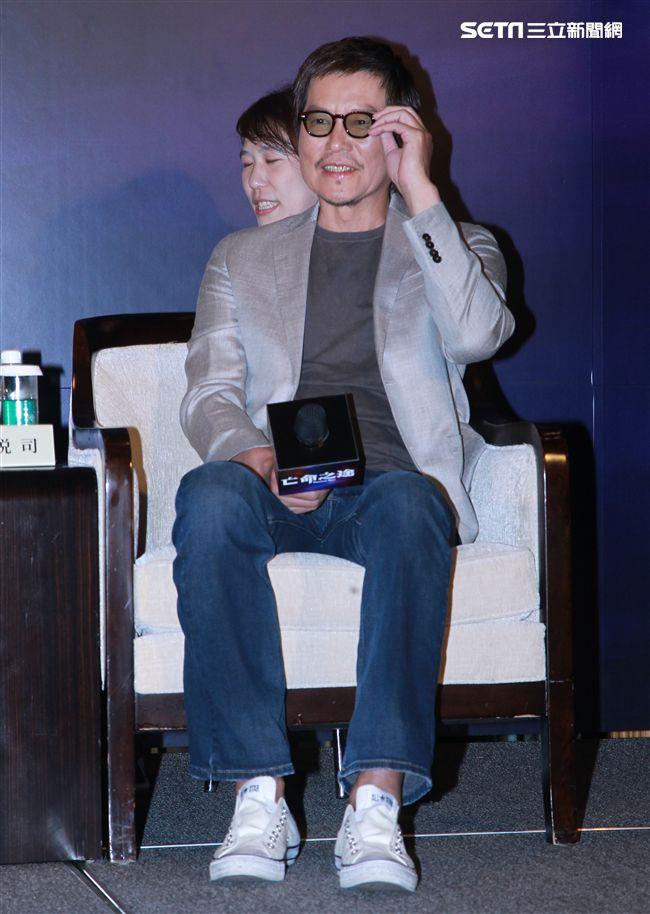 犯罪懸疑大片「亡命之途」演員豐川悅司。(記者邱榮吉/攝影)