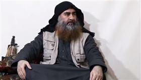 消失5年首度現身 IS領袖影片曝光(圖/翻攝自YouTube)