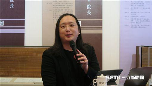 行政院政務委員唐鳳。(圖/記者盧素梅攝)