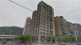台北市承德路四段97號墜樓現場(翻攝Google Map)