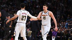 NBA/約基奇爆發 金塊砸暈拓荒者 NBA,季後賽,丹佛金塊,Nikola Jokic 翻攝自推特