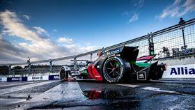 ▲Audi Sport奪下電動方程式法國站季軍。(圖/Audi提供)