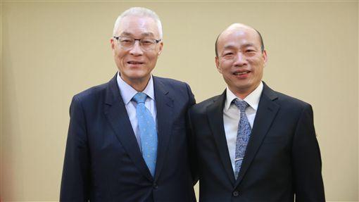 吳敦義,韓國瑜 圖/國民黨提供 ID-1901992