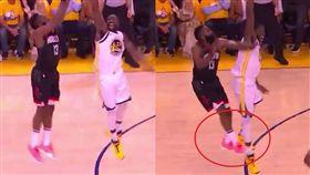 NBA/K湯:哈登前跳受傷是自找的 NBA,季後賽,休士頓火箭,James Harden,買犯 翻攝自推特