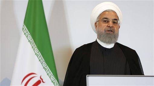 伊朗總統羅哈尼/達志影像/美聯社