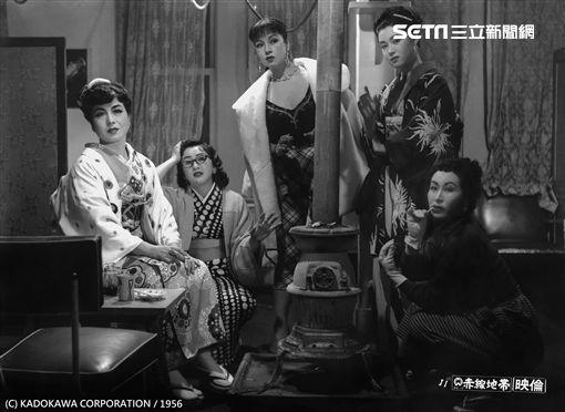 台北電影節「經典重現」,日本巨匠溝口健二生前最後遺作《赤線地帶》道盡日本性工作者的辛酸 。(圖/台北電影節提供)