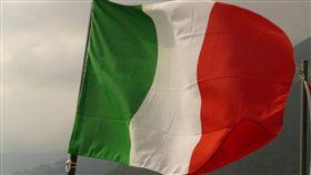 義大利國旗。(圖/翻攝自Pixabay)