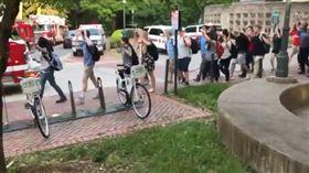 北卡羅來納大學,校園,槍擊(圖/翻攝自Drew Bollea推特)
