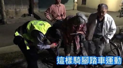 台南,黃宗仁,老人,警示燈,單車,車禍