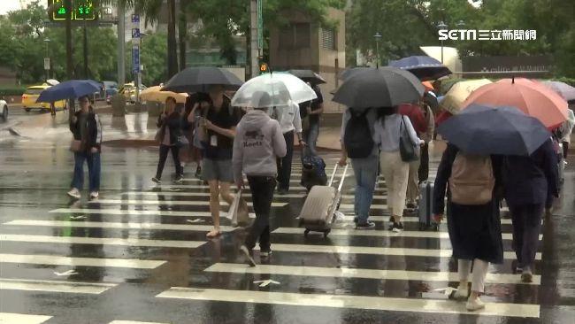好天氣掰掰!今北台灣氣溫遽降 全台「降雨熱區」曝光