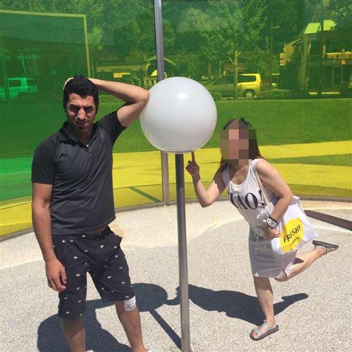伊拉克籍女婿勒斃岳父母後帶著兒子離開台灣(翻攝臉書)