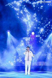 2019台潮盛典K歌之夜蔡承融演出。(記者林士傑/攝影)