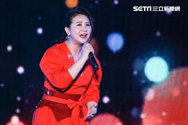 2019台潮盛典K歌之夜林喬安演出。(記者林士傑/攝影)