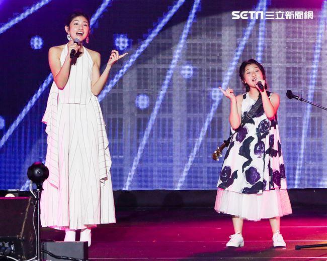 2019台潮盛典K歌之夜Gail Sophicha演出。(記者林士傑/攝影)