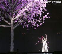 2019台潮盛典K歌之夜李千那演出。(記者林士傑/攝影)