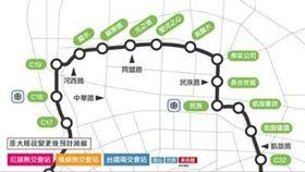 高雄點公佈高雄二期輕軌捷運路線圖,臉書