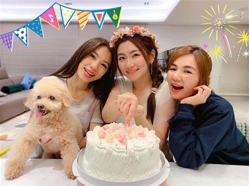 Selina發文悼念愛犬離世49天。(圖/翻攝自臉書)
