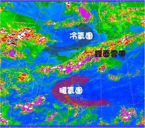 梅雨鋒面,氣象局,梅雨,中央氣象局數位科普網