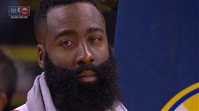 NBA/戳傷哈登眼 格林:我犯錯了 NBA,季後賽,休士頓火箭,James Harden 翻攝自推特