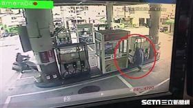 彰化加油站搶劫案/記者許書維翻攝