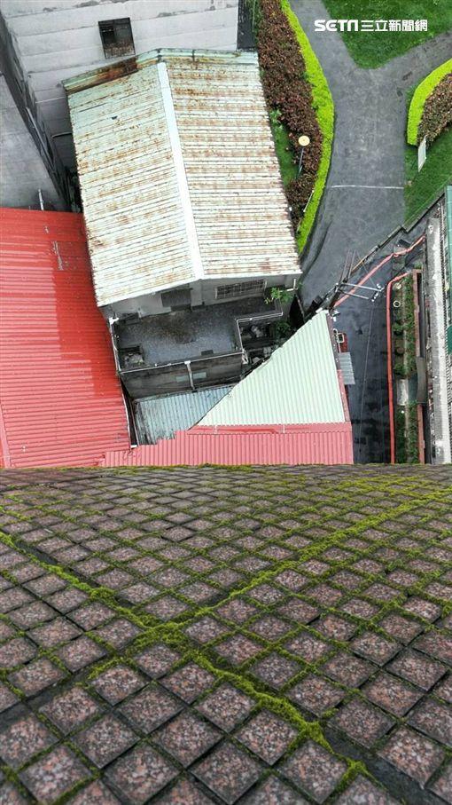 新北市,板橋,墜樓,吵架,女友,翻攝畫面