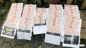 一次收到20張紅單、和美五組巡官鄭碩彥/記者許書維翻攝