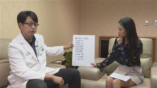 奕起聊健康,萬芳醫院神經內科醫師陳鴻儒,中風(記者陳則凱攝影)