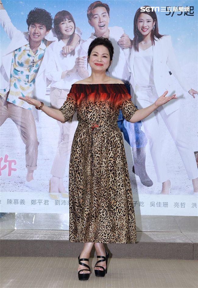週日偶像劇「月村歡迎你」演員楊貴媚。(記者邱榮吉/攝影)