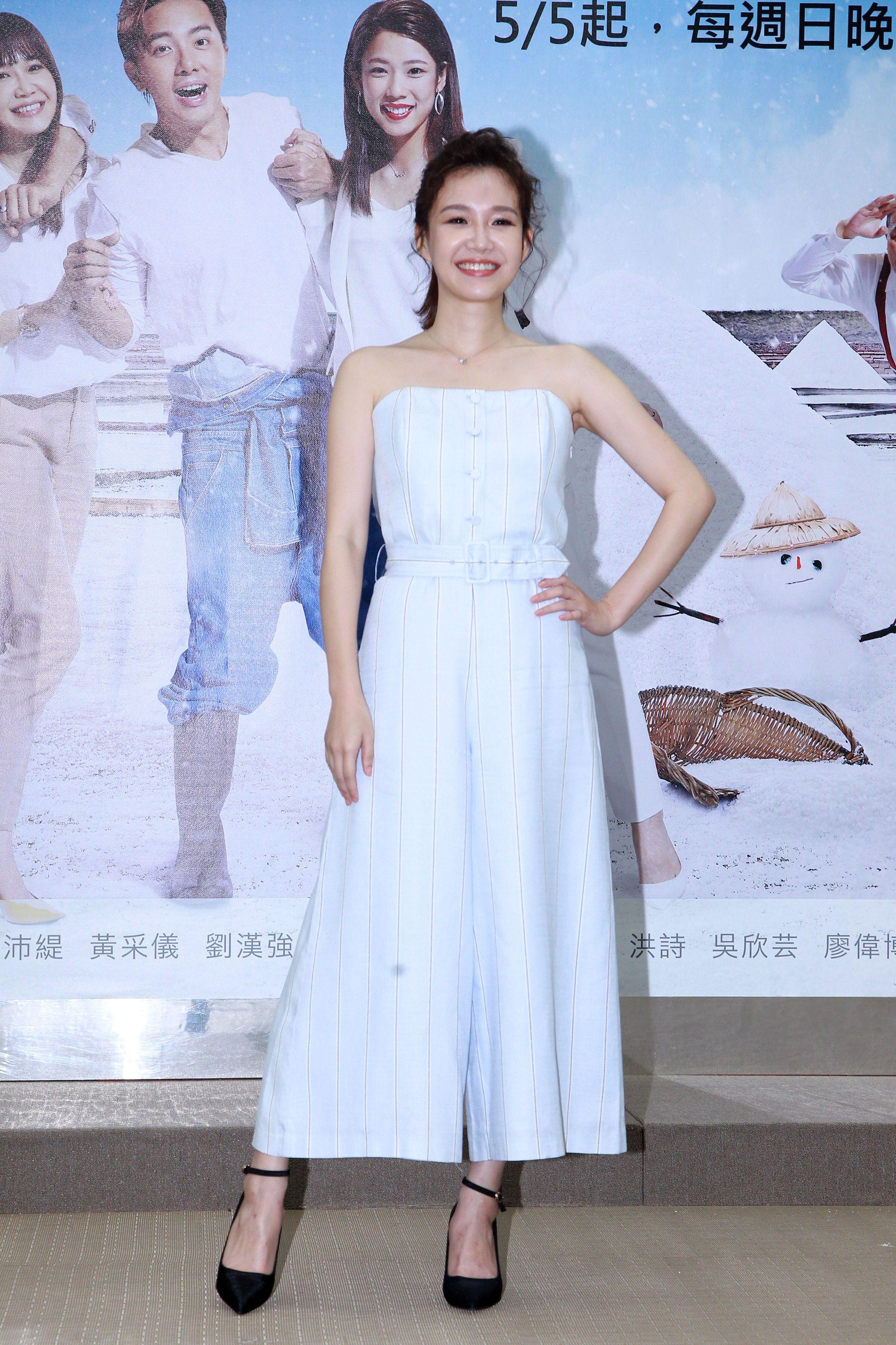 週日偶像劇「月村歡迎你」演員李佳豫。(記者邱榮吉/攝影)