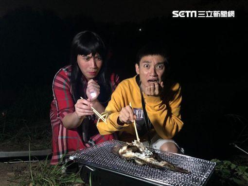 蘭潭魚精再現?!無尊、Eason拍到「人面魚」/緯來綜合台提供