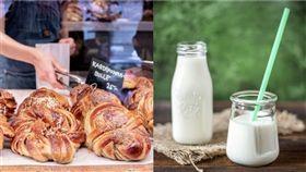 麵包 牛奶 unsplash pixabay