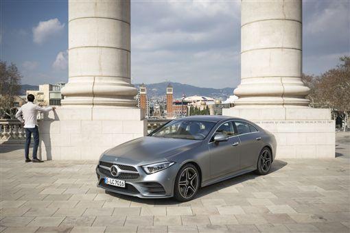 ▲CLS車系本月提供150萬40期零利率。(圖/Mercedes-Benz提供)