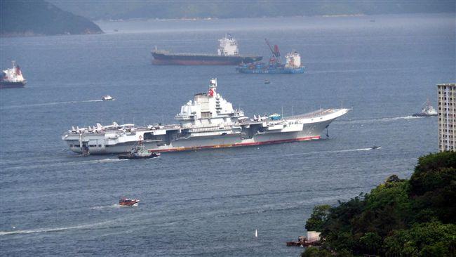 中國航母遼寧號進入南海 國防部:全程監控動態