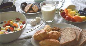 早餐,麵包,牛奶 圖/pixabay