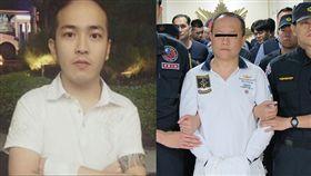 台北,內湖,萬年祥,萬少丞,組織犯罪防制條例,恐嚇取財,傷害。翻攝畫面