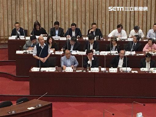 議會,韓國瑜,備詢,市府,總統,朱立倫,帶職參選