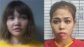 刺殺金正男的越南女子從獄中獲釋。(圖/翻攝自推特)