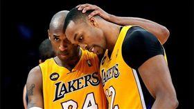 Dwight Howard與Kobe Bryant。(圖/翻攝自Howard個人IG)