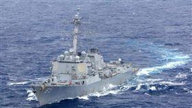 美軍飛彈驅逐艦「麥克坎貝爾」(USS McCampbell)號 圖翻攝自美國海軍官網