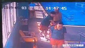 苗栗游泳池7歲男童溺水/記者蔡文淵翻攝