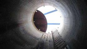 全國唯一隧道貯水系統 列歷史建築保存國內僅存唯一的隧道貯水系統「馬公水道貯水隧道」,因保留完整,極具有歷史文化等價值,澎湖縣政府日前正式公告,登錄為產業設施歷史建築來保存。(曾合意提供)中央社 108年4月29日