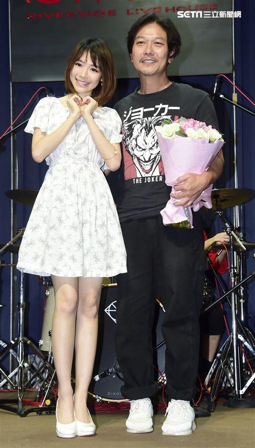 錢小豪公益演唱會、林明禎。(圖/記者常朝貴攝影)
